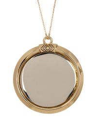 House of Harlow 1960 - Metallic Two-tone Caral Pendant Necklace - Lyst