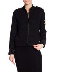 Pam & Gela - Black Calvary Twill Jacket - Lyst