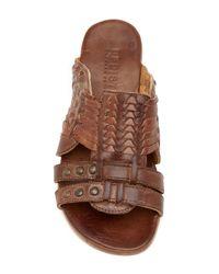 Bed Stu - Brown Diaz Woven Sandal - Lyst