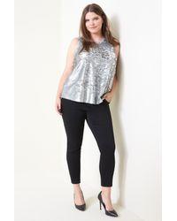RACHEL Rachel Roy - Metallic Sequin Top (plus Size) - Lyst