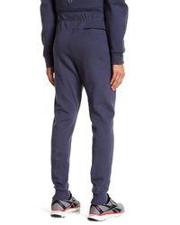 Reebok - Blue Knit Joggers for Men - Lyst