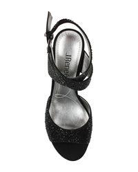 J. Reneé - Black Soncino Ankle Strap Sandal - Multiple Widths Available - Lyst