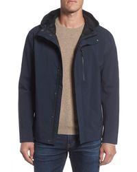 Andrew Marc - Blue Marc New York Stratus Waterproof Hooded Rain Jacket for Men - Lyst