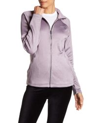 The North Face - Gray Quail Grey Agave Zip Jacket - Lyst