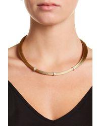 Alor - Yellow 18k White Gold Diamond Detail Bead Multi Strand Necklace - 0.14 Ctw - Lyst