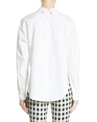 Rag & Bone - White Calder Reversible Top - Lyst