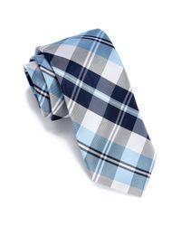 Perry Ellis - Blue Bedoya Plaid Tie for Men - Lyst