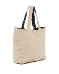 Urban Expressions | Multicolor Woven Reversible Vegan Leather Weekend Tote | Lyst