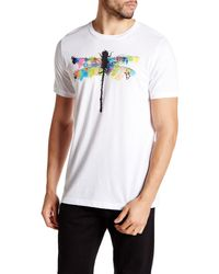 Arka White Dragonfly T-shirt for men