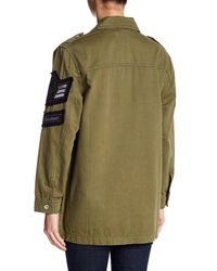 Band Of Gypsies - Green Soutache Patch Military Jacket - Lyst