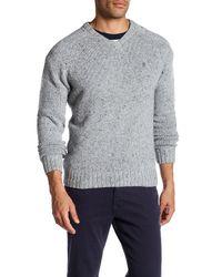 Original Penguin - Gray Saddle Raglan Sweater for Men - Lyst