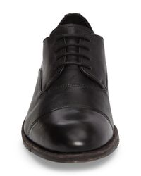 Frye - Black Sam Cap-toe Oxford (men) for Men - Lyst