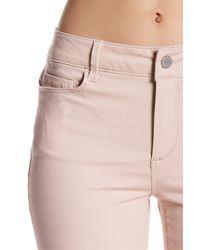 Workshop - Pink 5 Pocket Skinny Pant (petite) - Lyst
