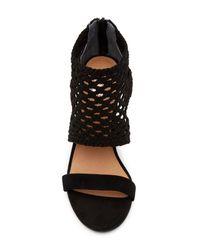 Seychelles - Black Turn Things Around Perforated Sandal - Lyst