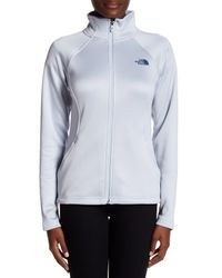 The North Face - Multicolor Arctic Ice Agave Zip Jacket - Lyst