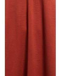 Hinge - Red Vintage Seam Slipdress - Lyst