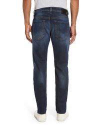 DIESEL - Blue (r) Buster Slim Straight Leg Jeans (0857y) for Men - Lyst