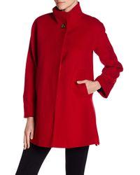 Fleurette - Red Modern Wool Coat - Lyst