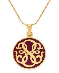 ALEX AND ANI - Metallic Path Of Life Pendant Adjustable Necklace - Lyst