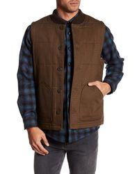 Pendleton   Brown Canvas Journey Vest for Men   Lyst