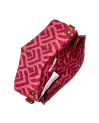 Roxy - Brown In The Plan Messenger Bag - Lyst
