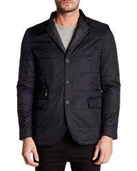 Bugatchi - Black Removable Placket Jacket for Men - Lyst
