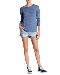 Volcom | Blue Stoned Rolled Short | Lyst
