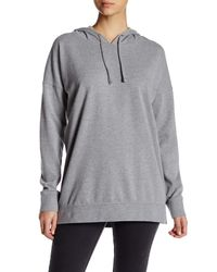 Volcom | Gray Lived In Long Pullover Hoodie | Lyst
