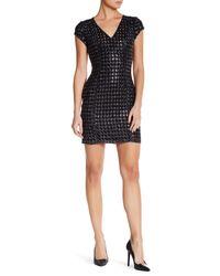 Parker - Black Serena Silk Dress - Lyst