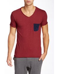 ELEVEN PARIS - Red Babico Short Sleeve Tee for Men - Lyst