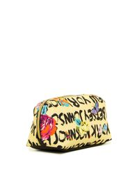 Betsey Johnson - Yellow Cosmetic Bag - Lyst