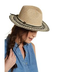 Betsey Johnson | Black Panama Hat | Lyst