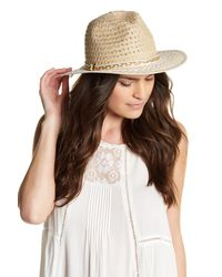 Betsey Johnson | White Panama Hat | Lyst