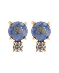Botkier | Multicolor Mini Double Stone Stud Earrings | Lyst