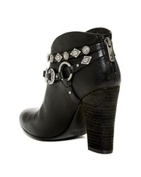 Belle By Sigerson Morrison | Black Leather Ankle Boots | Lyst