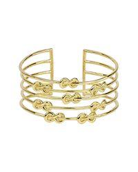 Noir Jewelry   Metallic Seaside Cuff   Lyst