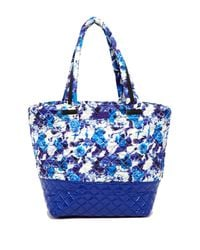 Steve Madden | Blue Roverr Quilted Nylon Tote | Lyst