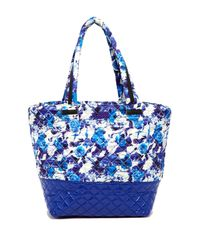 Steve Madden - Blue Roverr Quilted Nylon Tote - Lyst
