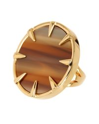 Vince Camuto - Metallic Claw Set Horn Statement Ring - Lyst