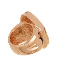 Vince Camuto | Multicolor Chunky Stone Ring - Size 7-8 | Lyst