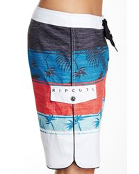 Rip Curl | Red All Time Printed Board Short for Men | Lyst