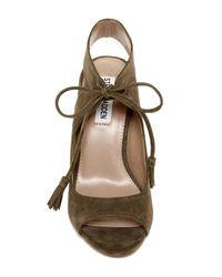 1225d7576f6 Lyst - Steve Madden Charlea Block Heel Sandal in Brown