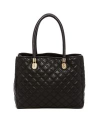 Cole Haan | Black Benson Quilted Leather Tote | Lyst