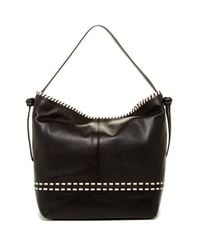 Cole Haan | Black Brynn Leather Shoulder Bag | Lyst