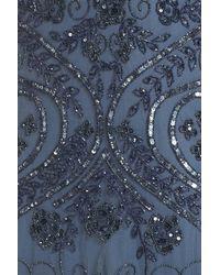 Pisarro Nights - Gray Embellished Mermaid Gown (plus Size) - Lyst