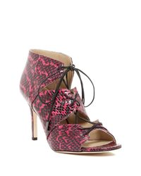 Via Spiga | Multicolor Vibe Lace-up Sandal | Lyst