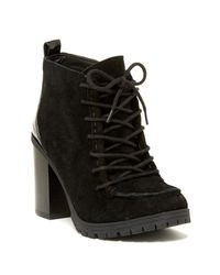 Circus by Sam Edelman | Black Denver Lace-up Suede Chukka Bootie | Lyst