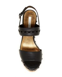 Cynthia Vincent | Black Potent Platform Sandal | Lyst