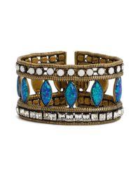 Lionette | Blue 'debussi' Snake Chain Bracelet | Lyst