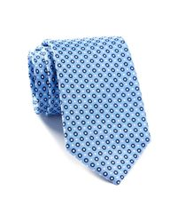 English Laundry - Blue Dotted Silk Tie for Men - Lyst